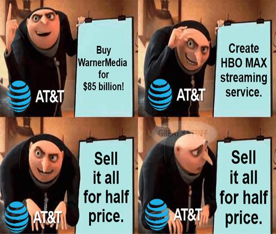 AT&T Gru meme big