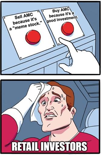 AMC Choices meme stock meme