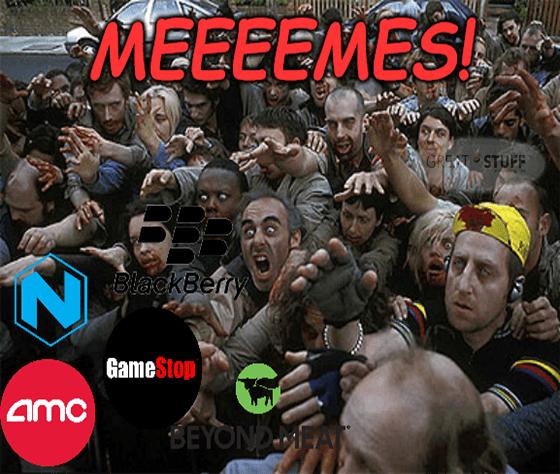 Meeeeeeme stock undead zombies May 28 meme big