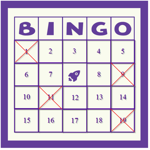 bpd stock bingo card 2021