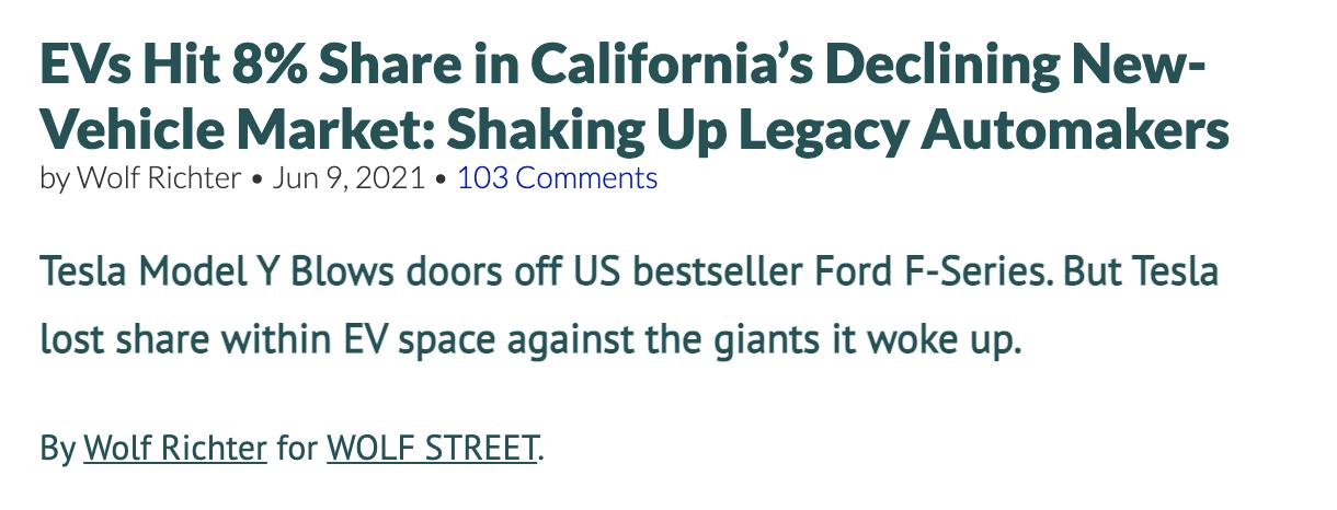 Tesla Beats Ford F Series
