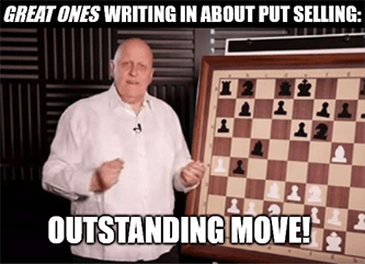 Great Ones writing put-selling outstanding move chess meme