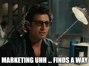 Marketing uhh finds a way in-game advertising meme