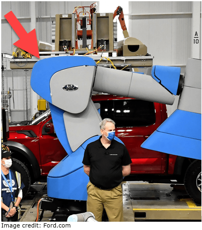 ford robot production