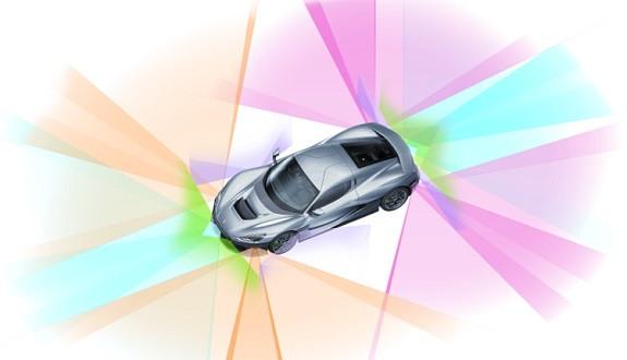 Nevera electric vehicle hypercar