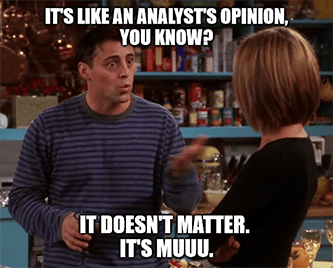 analyst's opinion doesn't matter it's muuuu meme - july jobs gs