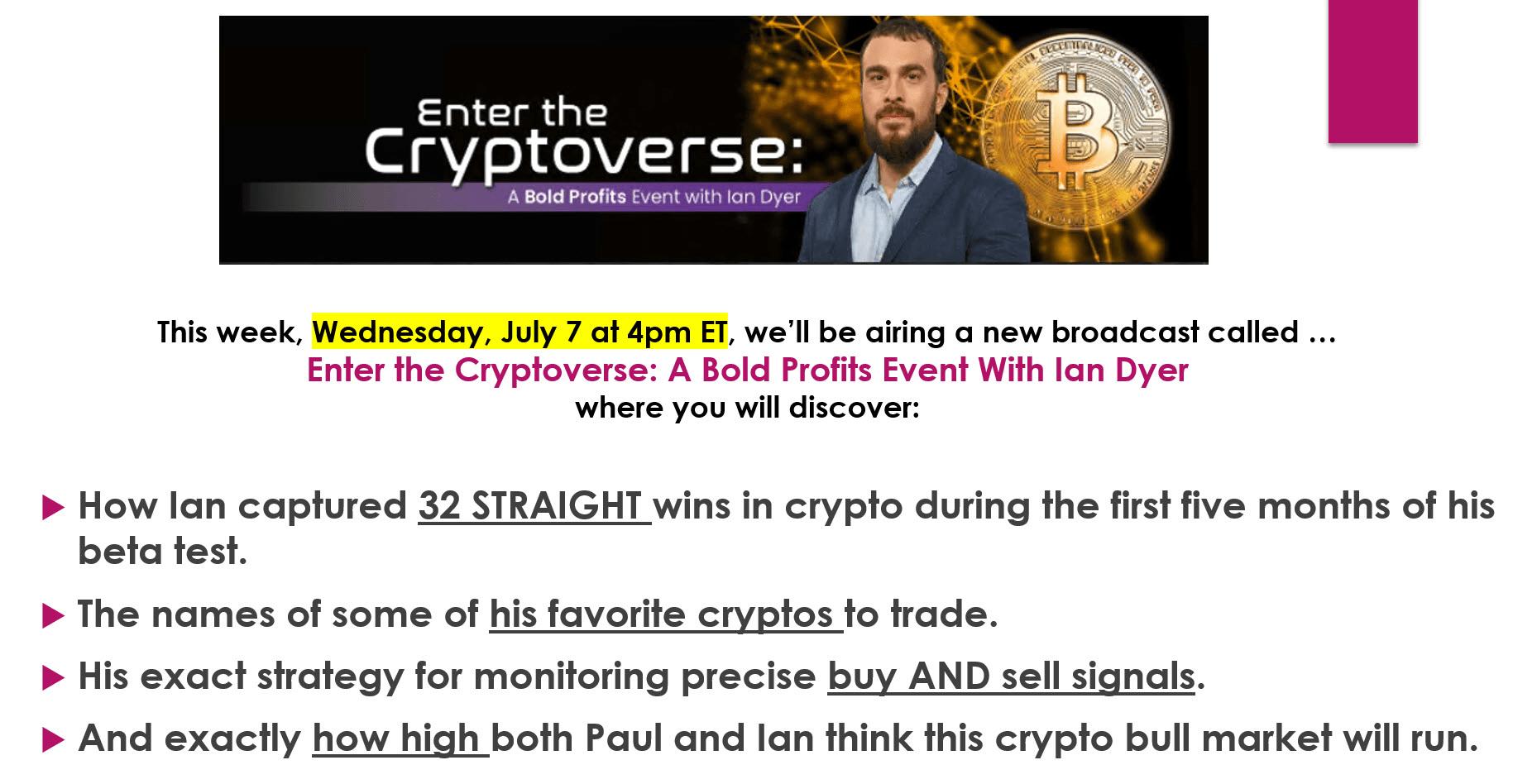 crypto trading service