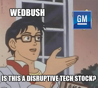 Wedbush to GM butterfly is this disruptive tech stock meme - xpeng edition