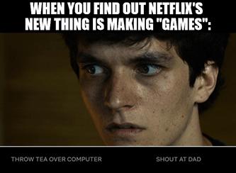 Find out Netflix making games Bandersnatch meme