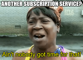 TSLA Ain't nobody got time for other subscriptions meme