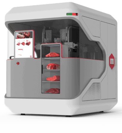 3d printed meat printing machine