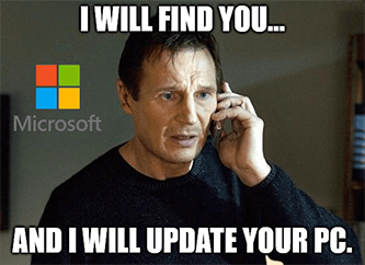 MSFT earnings I will find you update you meme