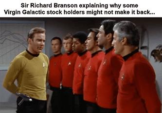 Branson explaining stockholders make it Star Trek meme