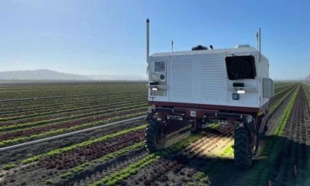 carbon robotics weeding robot