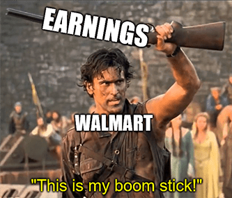 Earnings are Walmart's boom stick 2021 meme - August retail sales edition