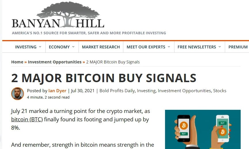 Ian Dyer Article