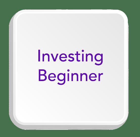 investing beginner button