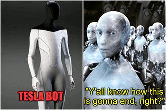 TSLA bot iRobot know how this is gonna end meme