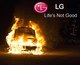 GM LG Life's not good fire Bolt Chevy meme