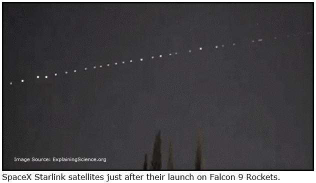 spacex starlink satellites Falcon 9 rockets