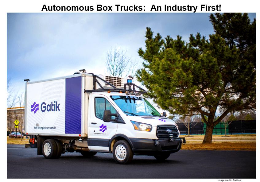 autonomous box trucks