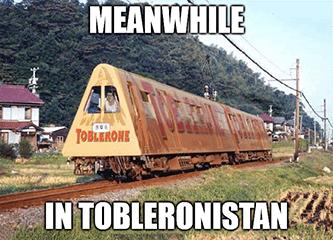 Meanwhile in Tobleronistan railroad KSU meme