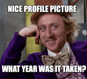 Match Group stock Nice profile pic what year meme