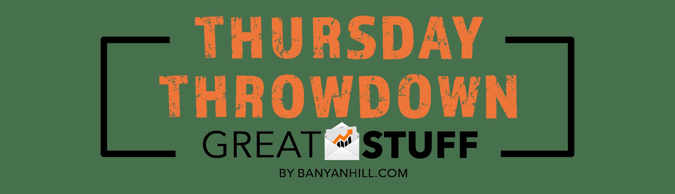 Great Stuff Thursday Throwdown header