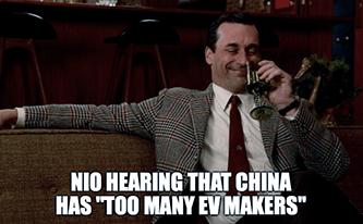 Too Many EV Makers Don Drapper Meme