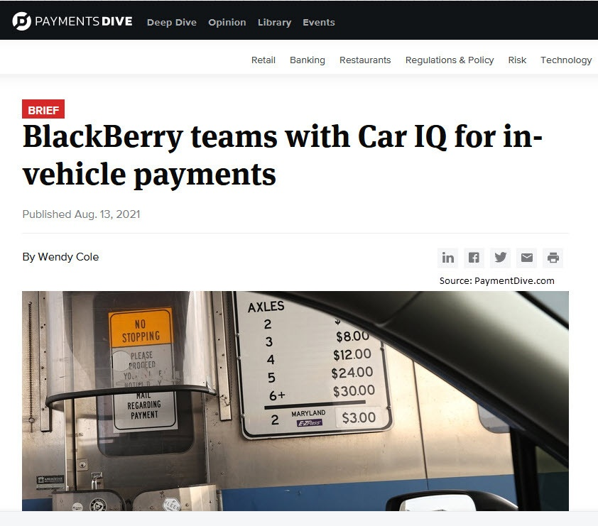 Blackberry Headlines