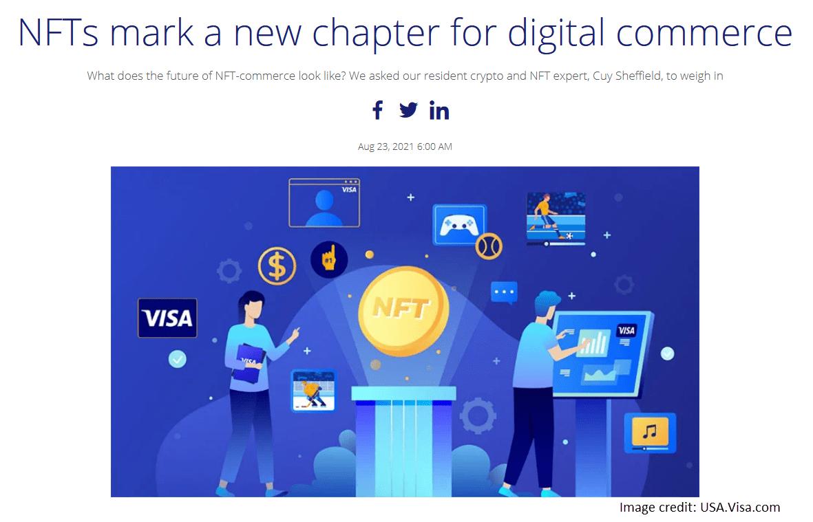NFT digital commerce
