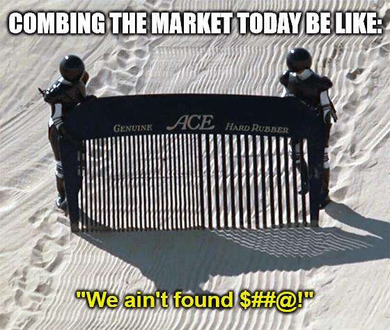 Combing the Market Meme Big