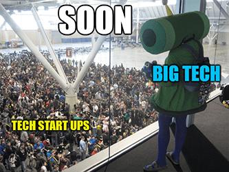 Big Tech Katamari Damacy Meme