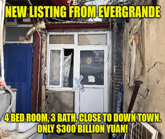 EverGrande Chinese Real State Meme Big