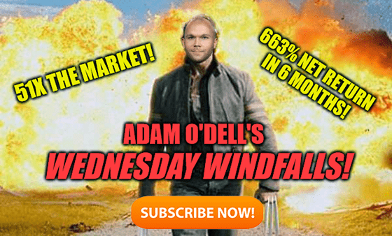 O'Dell's Wednesday Windfalls explosion meme