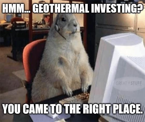 Geothermal Investing IT Squirrel Meme Big