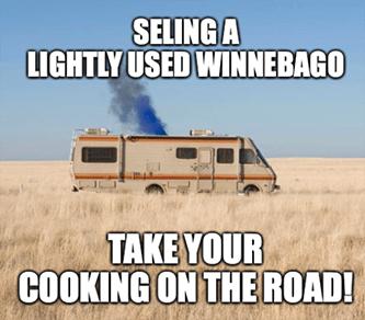 Breaking Bad Thor Industries Winnebago Meme
