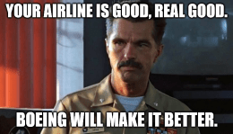 Boeing Your Airline Is Good Meme