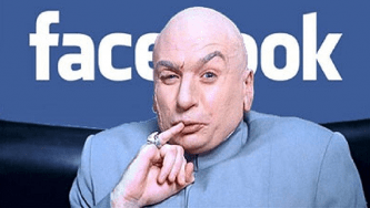 Facebook Dr. Evil outages image issues meme
