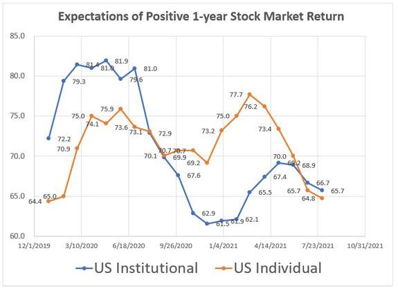 expectations of stock market return
