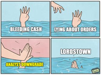 Lordstown Motors Drowning High Five Meme