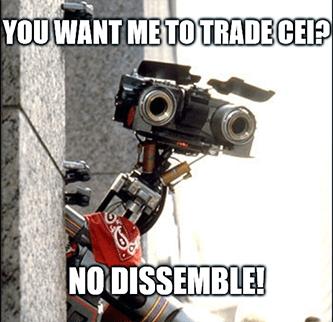 No Dissemble Robot Camber Energy Meme