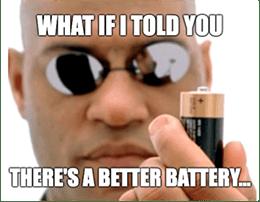 Morpheus Matrix Battery PRL Black Magic Meme