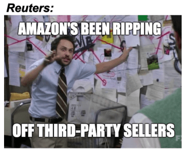 Amazon's been ripping off third-party Reuters meme